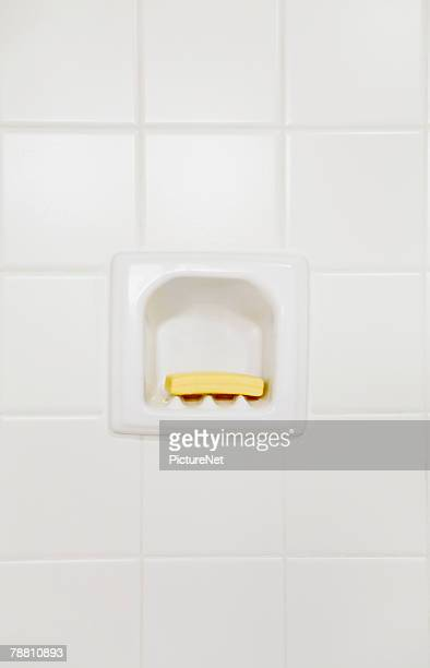 Bar of Soap in Soapholder