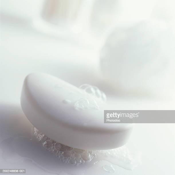 Bar of Soap, (Close-up)