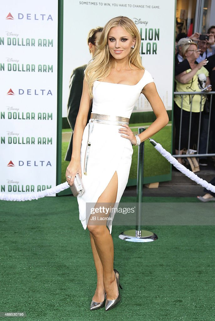 Bar Paly attends the 'Million Dollar Arm' Los Angeles premiere held at El Capitain Theater on May 6, 2014 in Hollywood, California.