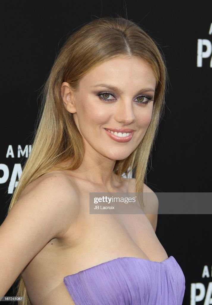 Bar Paly attends the 'Pain & Gain' premiere held at TCL Chinese Theatre on April 22, 2013 in Hollywood, California.