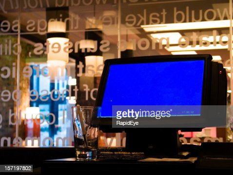Bar point-of-sale terminal