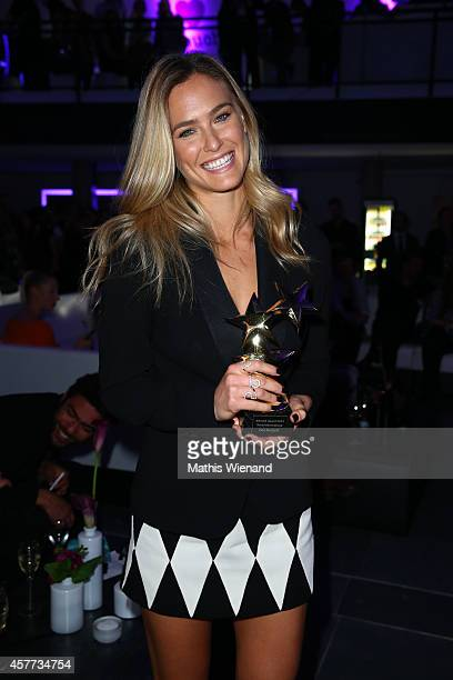 Bar Rafaeli attends the InTouch Awards 2014 at Port Seven on October 23 2014 in Duesseldorf Germany