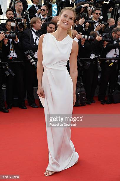 Bar Rafaeli attends the opening ceremony and premiere of 'La Tete Haute' during the 68th annual Cannes Film Festival on May 13 2015 in Cannes France