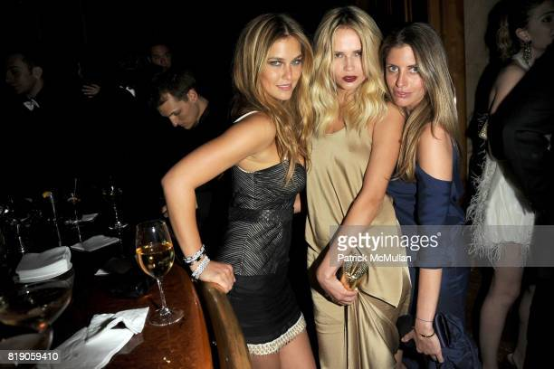Bar Rafaeli Natasha Poly and Valerie Boster attend The Unofficial After Party for THE METROPOLITAN MUSEUM OF ART'S Spring 2010 COSTUME INSTITUTE...