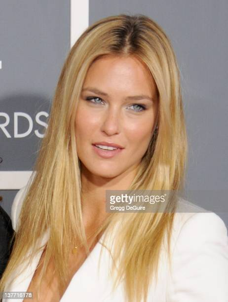 Bar Refaeli arrives for the 53rd Annual GRAMMY Awards at the Staples Center February 13 2011 in Los Angeles California