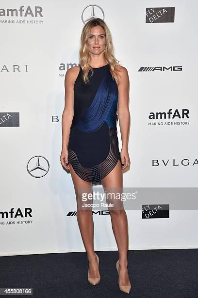 Bar Refaeli attends amfAR Milano 2014 during Milan Fashion Week Womenswear Spring/Summer 2015 on September 20 2014 in Milan Italy