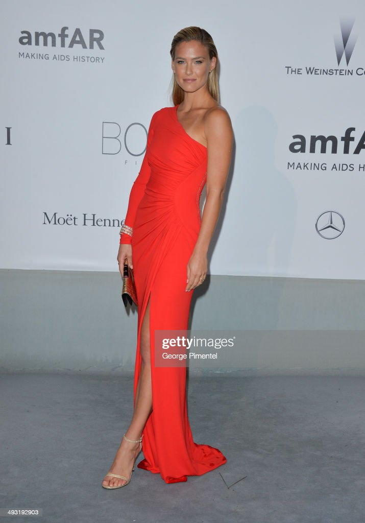 Bar Refaeli attends amfAR's 21st Cinema Against AIDS Gala Presented By WORLDVIEW BOLD FILMS And BVLGARI at the 67th Annual Cannes Film Festival on...