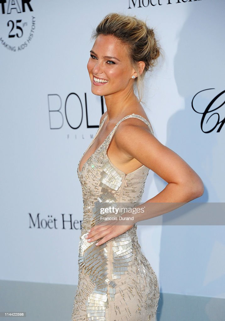 <a gi-track='captionPersonalityLinkClicked' href=/galleries/search?phrase=Bar+Refaeli&family=editorial&specificpeople=468932 ng-click='$event.stopPropagation()'>Bar Refaeli</a> attends amfAR's Cinema Against AIDS Gala during the 64th Annual Cannes Film Festival at Hotel Du Cap on May 19, 2011 in Antibes, France.