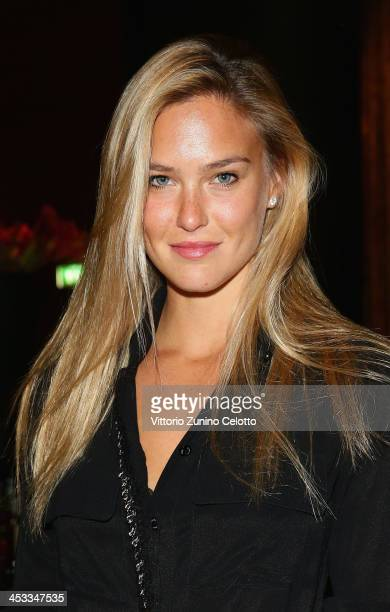Bar Refaeli attends Epicurea Food Festival At The Bulgari Hotel Milan on December 3 2013 in Milan Italy