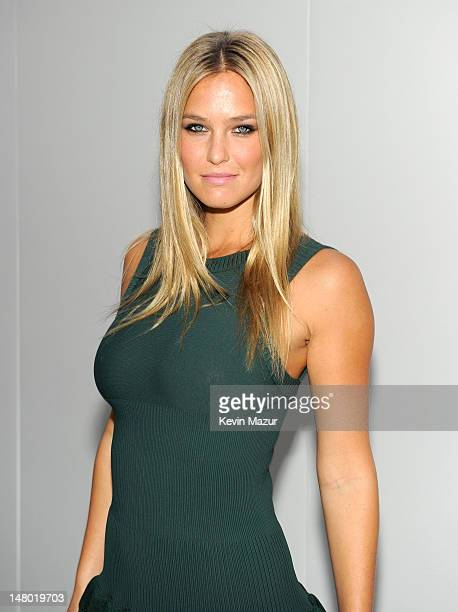 Bar Refaeli attends Fashion's Night Out The Show at Lincoln Center on September 7 2010 in New York City