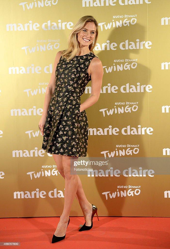 Bar Refaeli attends the 2014 Marie Claire Prix de la Mode at Callao Theater on November 19 2014 in Madrid Spain