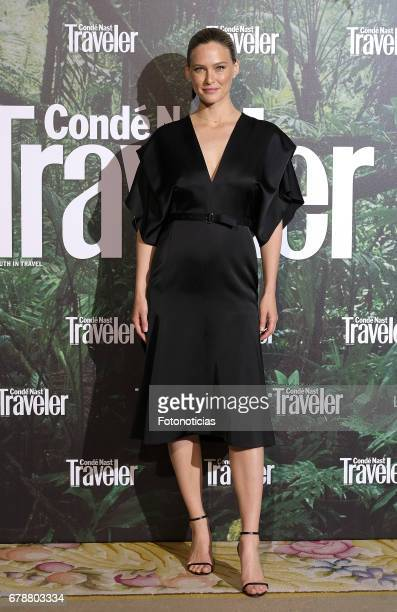 Bar Refaeli attends the 2017 Conde Nast Traveler Awards ceremony at The Ritz Hotel on May 4 2017 in Madrid Spain