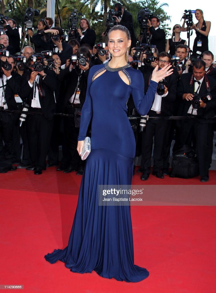Bar Refaeli attends 'The Beaver' Premiere during the 64th Cannes Film Festival at Palais des Festivals on May 17 2011 in Cannes France
