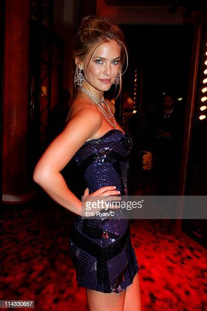 Bar Refaeli attends the Diamonds Are Girls Best Friend event during the 64th Annual Cannes Film Festival held at Hotel Martinez on May 16 2011 in...
