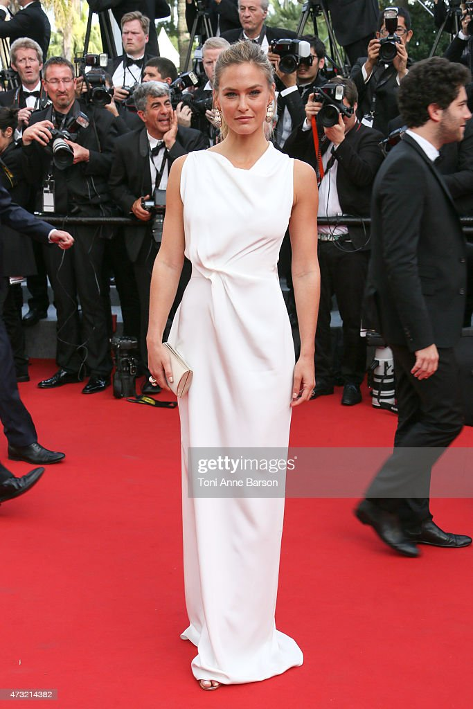 Bar Refaeli attends the opening ceremony and 'La Tete Haute' ('Standing Tall') premiere during the 68th annual Cannes Film Festival on May 13, 2015 in Cannes, France.