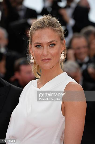 Bar Refaeli attends the opening ceremony and premiere of 'La Tete Haute' during the 68th annual Cannes Film Festival on May 13 2015 in Cannes France