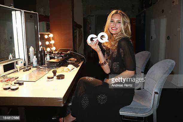 Bar Refaeli backstage at the GQ Men of the Year Award at Komische Oper on October 26 2012 in Berlin Germany