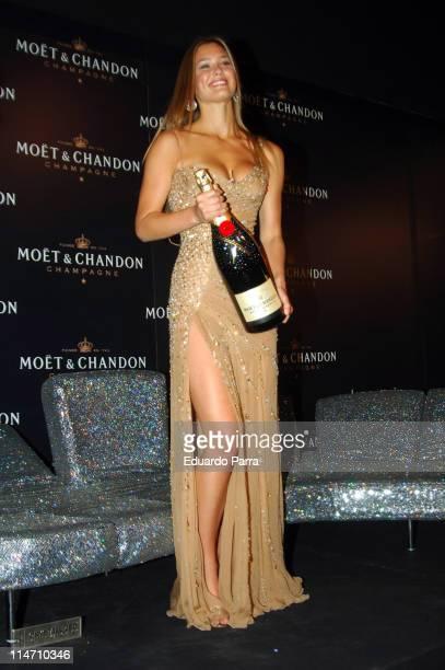 Bar Refaeli during Bar Refaeli Launches the New Moet Chandon 'Star of the Night' Bottle September 18 2006 at Moet Chandon Room in Madrid Spain
