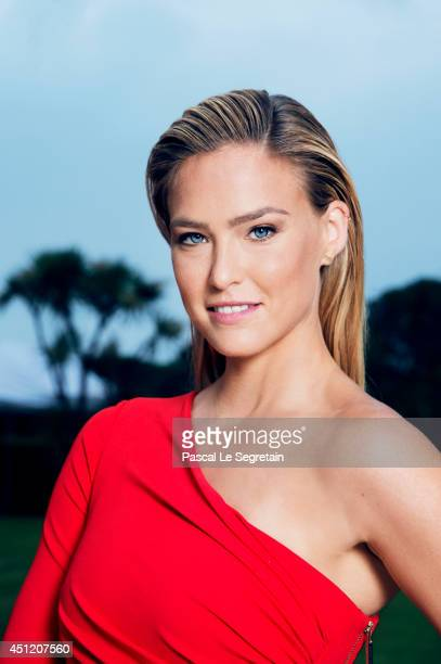 Bar Refaeli is photographed at AmfAR's 21st Cinema Against AIDS Gala on May 22 2014 in Cap d'Antibes France