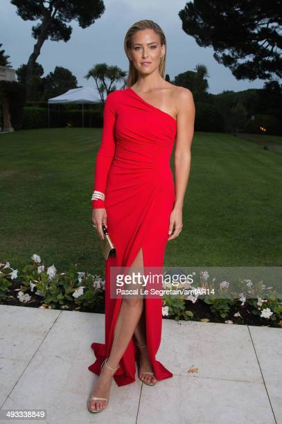 Bar Refaeli poses for a portrait at amfAR's 21st Cinema Against AIDS Gala Presented By WORLDVIEW BOLD FILMS And BVLGARI at Hotel du CapEdenRoc on May...