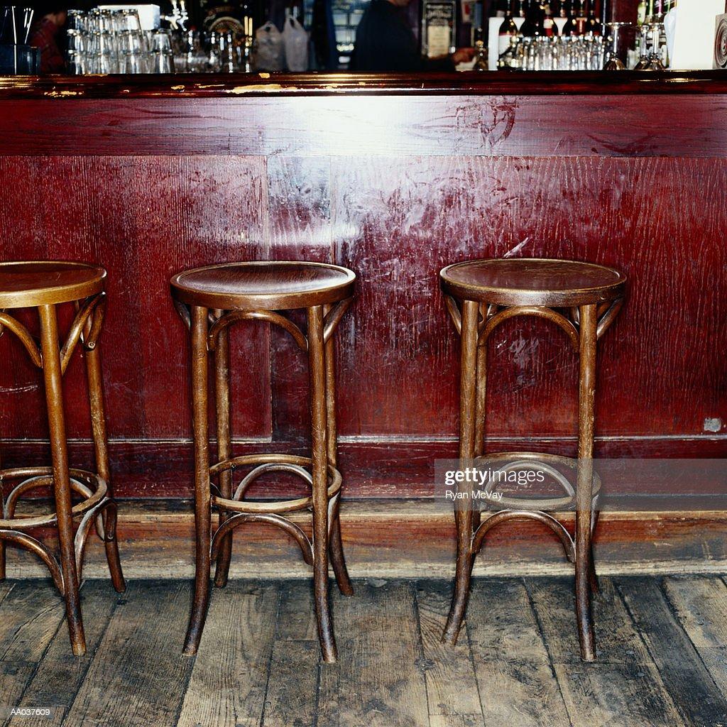 Bar Stools in Pub
