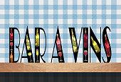 'Bar à Vins'  Wine Bar  Bar counter