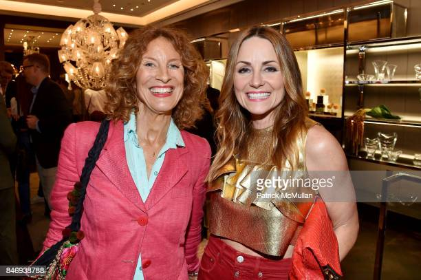 Bara de Cabrol Lucinda Loya and Baccarat celebrates The French Style Issue with ELLE DECOR on September 13 2017 in New York City