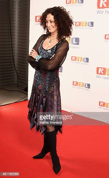 Barabra Wussow attends the RTL Telethon 2013 on November 21 2013 in Cologne Germany