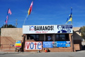 Barack Obama supporters visit the Democratic Party's headquarters in Espanola New Mexico a few days before the 2012 presidential election A majority...