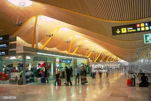Barajas International Airport, New Terminal 4, Madrid, Spain