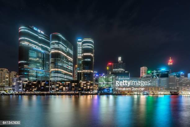 Barangaroo Buildings at Night
