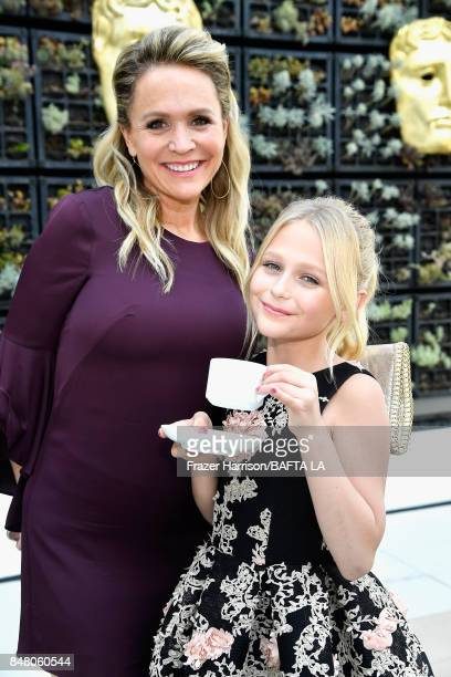 Barbara Alyn Woods and Alyvia Alyn Lind attend the BBC America BAFTA Los Angeles TV Tea Party 2017 at The Beverly Hilton Hotel on September 16 2017...
