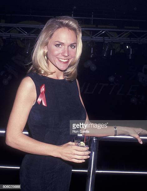Barbara Alyn Woods attends PreValentine's Day Party for Couple Only on February 10 1993 at Club USA in New York City