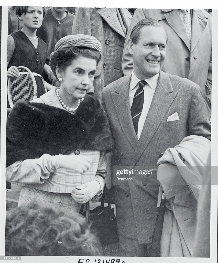 Barbara Hutton Von Cramm Next to Her Husband