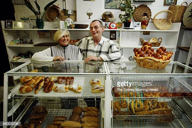 Barbara and Tadeusz Wojciechowski at their business Soos Bakery in Rose Bay 5 June 2006 SMH Picture by NARELLE AUTIO