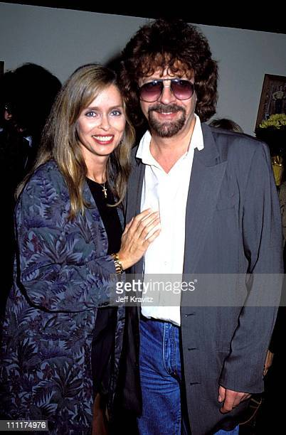 Barbara Bach and Jeff Lynne during Ringo Starr Party at Bar One October 9 1990 at Bar One in Los Angeles California United States