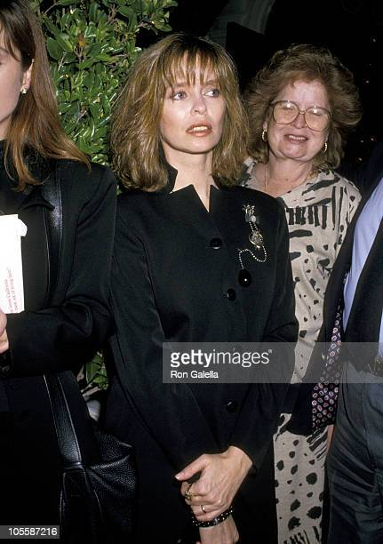 Barbara Bach during Ringo Starr and Barbara Bach Sighting at Chasen's Restaurant March 24 1988 at Chasen's Restaurant in Beverly Hills California...