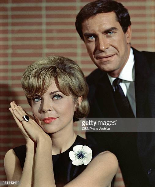 MISSION IMPOSSIBLE Barbara Bain as Cinnamon Carter and Martin Landau as Rollin Hand Image dated 1967