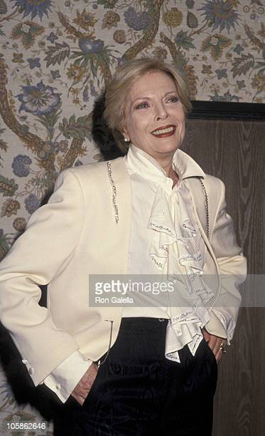 Barbara Bain during 1st Annual Minority Motion Picture Awards at Wiltern Theater in Los Angeles California United States