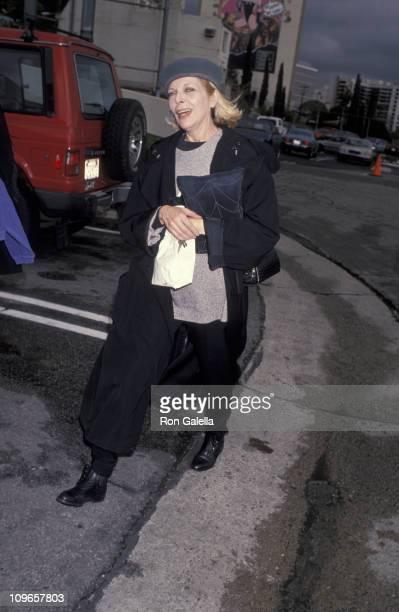 Barbara Bain during Barbara Bain Sighted at Chin Chin Restaurant January 10 1993 at Chin Chin Restaurant in Los Angeles California United States