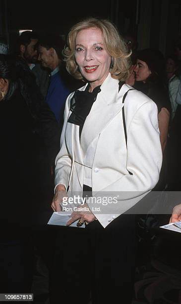 Barbara Bain during Performance of The Franklin Ballet at Wiltern Theater in Los Angeles California United States