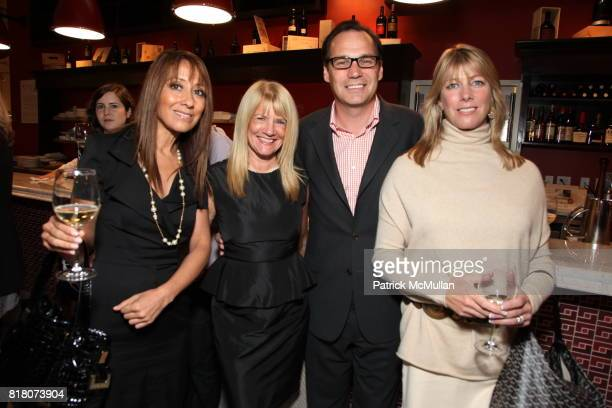 Barbara Bank Drew Schutte and Kelly Schutte attend Epicurious 15th Anniversary Dinner at Eataly on September 29 2010 in New York