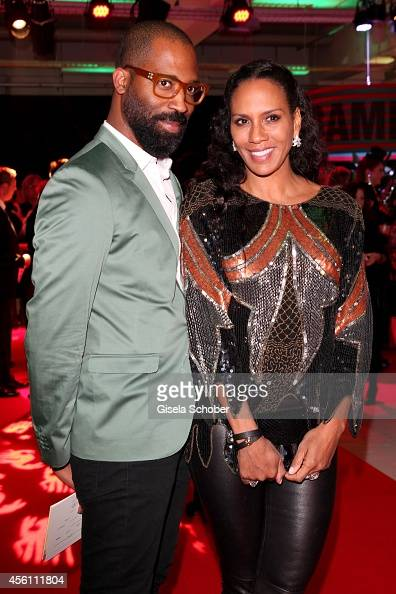 Barbara Becker and Chris Glass arrive at Tribute To Bambi 2014 at Station on September 25 2014 in Berlin Germany