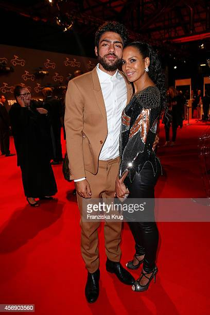 Barbara Becker and Noah Becker attend the Tribute To Bambi 2014 on September 25 2014 in Berlin Germany
