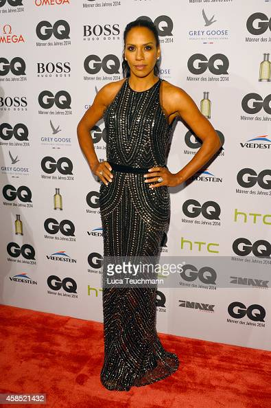 Barbara Becker arrives at the GQ Men of the Year Award 2014 at Komische Oper on November 6 2014 in Berlin Germany