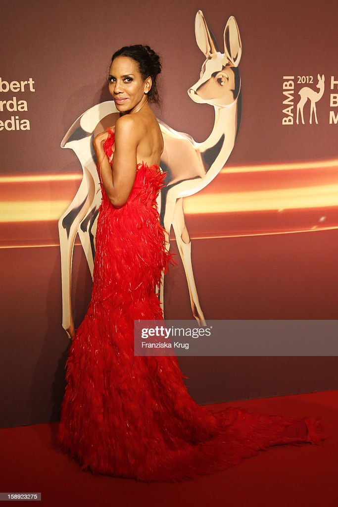 <a gi-track='captionPersonalityLinkClicked' href=/galleries/search?phrase=Barbara+Becker&family=editorial&specificpeople=544060 ng-click='$event.stopPropagation()'>Barbara Becker</a> attends the 'BAMBI Awards 2012' at the Stadthalle Duesseldorf on November 22, 2012 in Duesseldorf, Germany.