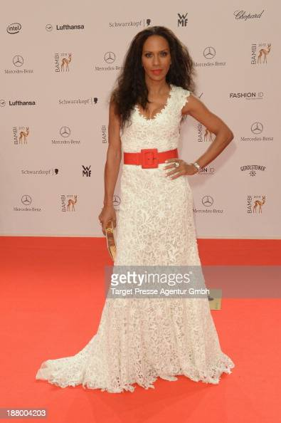 Barbara Becker attends the Bambi Awards 2013 at Stage Theater on November 14 2013 in Berlin Germany