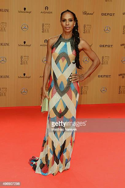 Barbara Becker attends the Bambi Awards 2015 at Stage Theater on November 12 2015 in Berlin Germany