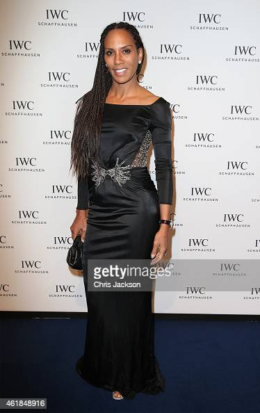 Barbara Becker attends the IWC Gala Dinner during the Salon International de la Haute Horlogerie 2015 at the Palexpo on January 20 2015 in Geneva...