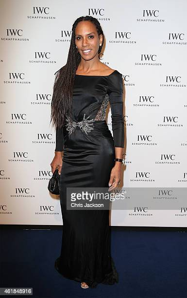 Barbara Becker attends the IWC Gala Dinner during the Salon International de la Haute Horlogerie 2015 at the Palexpo on January 20 2015 in Geneva...